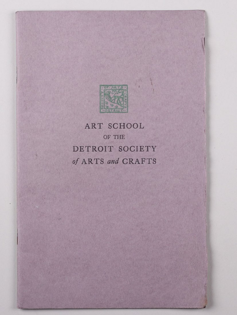 Art School of the Detroit Society of Arts & Crafts 1926 - 2