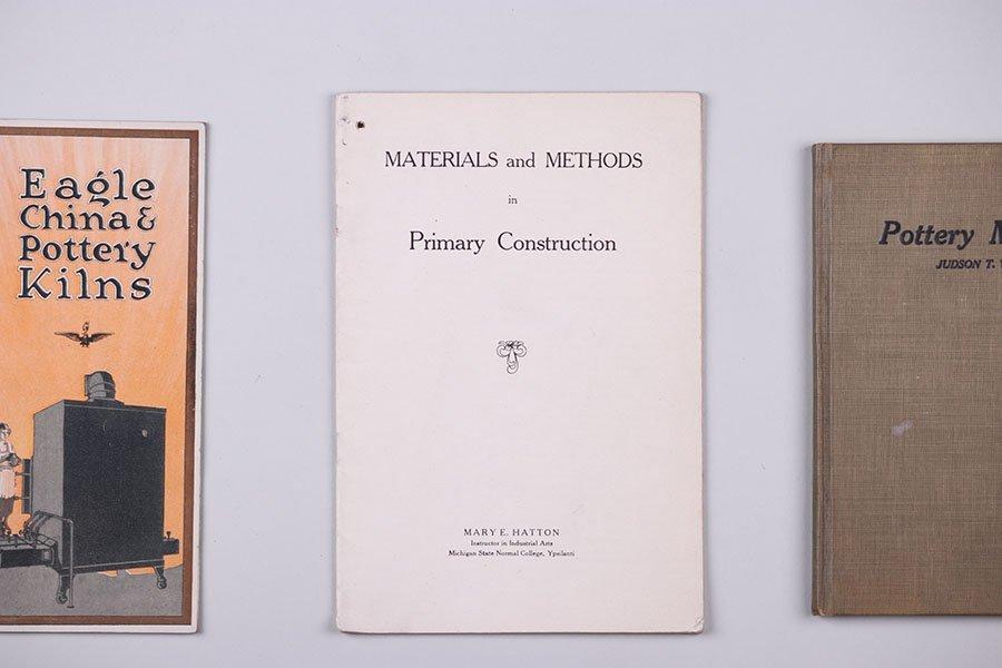 Lot of Kiln Supplies and Pottery-making Ephemera c1910s - 3