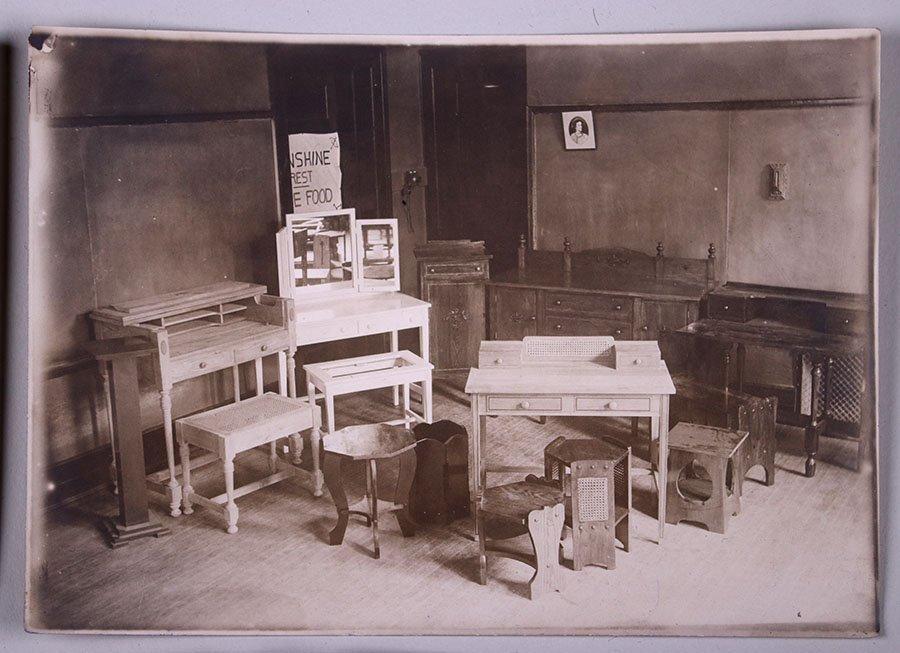 4 Photos of Furniture - Detroit Institute of Arts c1915 - 2