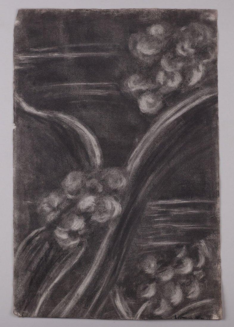Lot of Misc. Watercolors & Charcoals c1910 - 3