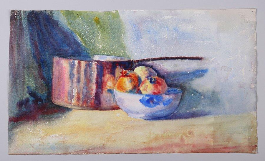 Lot of Misc. Watercolors & Charcoals c1910 - 4