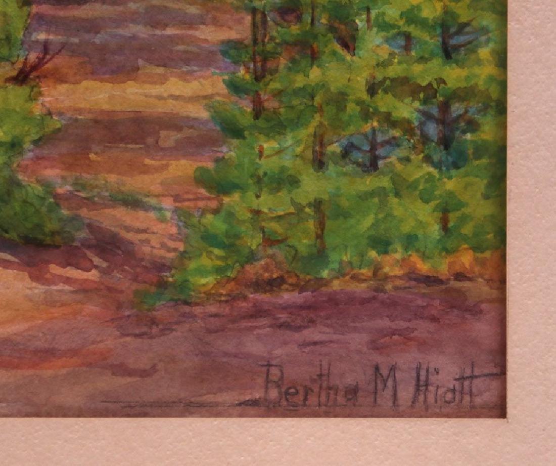 Bertha Hiatt Watercolor Yosemite - 3