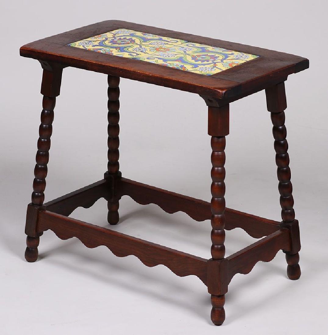 Malibu Pottery Tile-Top Table