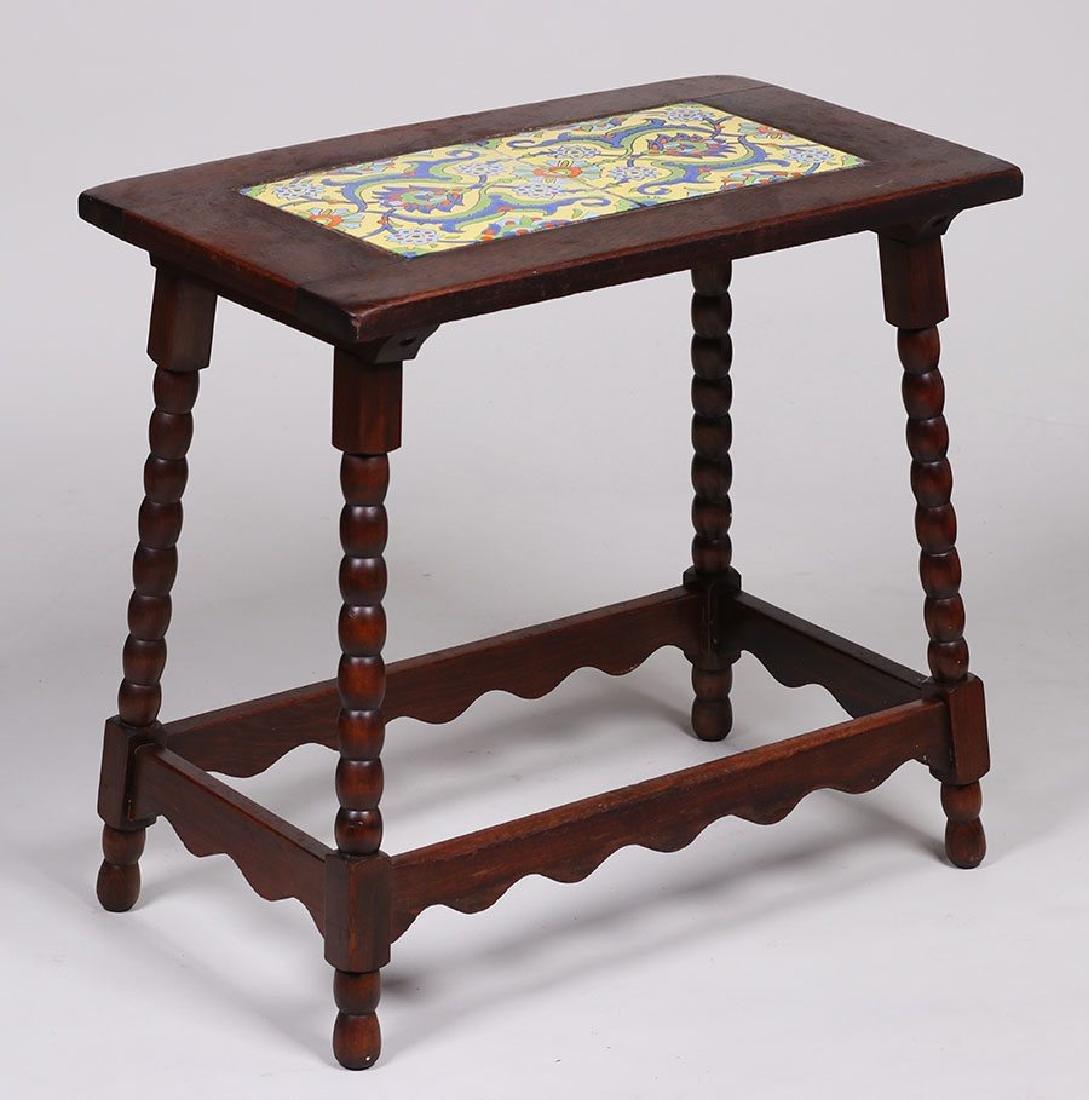 Malibu Pottery Tile-Top Table - 2