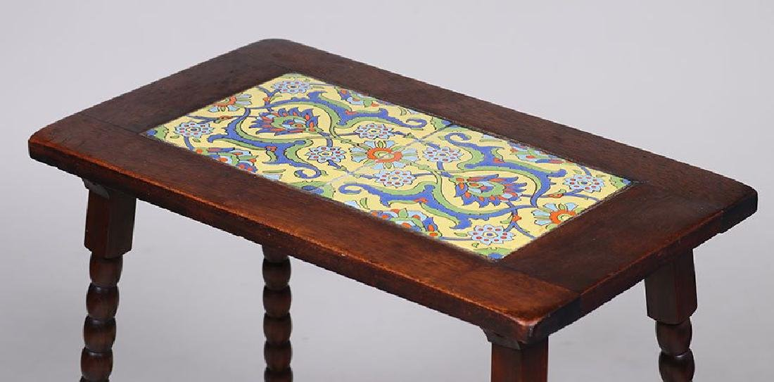 Malibu Pottery Tile-Top Table - 3