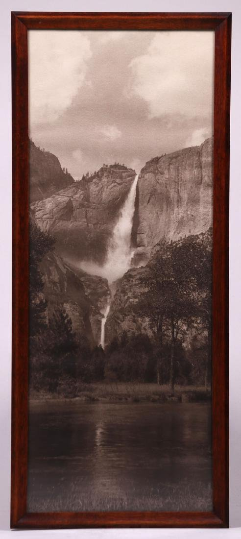 Antique Yosemite Falls Photo c1910 - 2