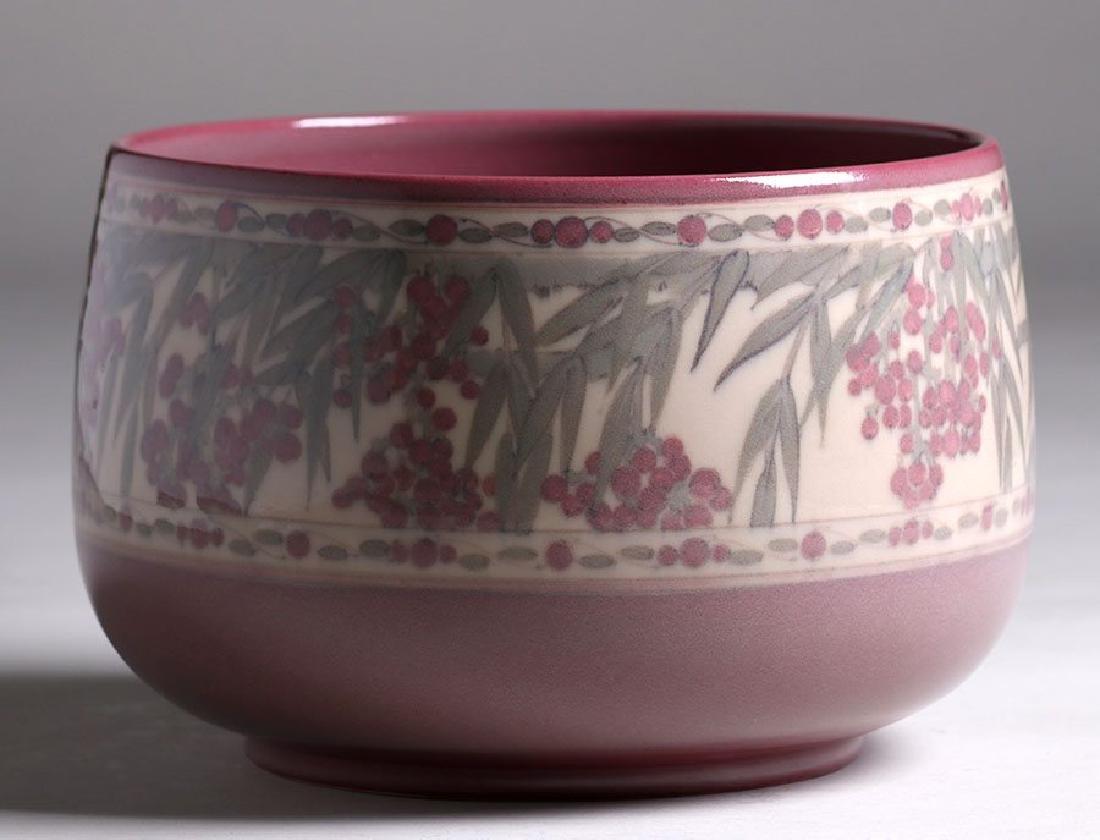 Rookwood Jeweled Porcelain Fruit Bowl Lorrinda Epply