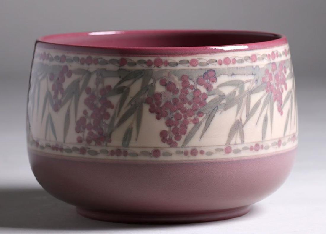 Rookwood Jeweled Porcelain Fruit Bowl Lorrinda Epply - 2