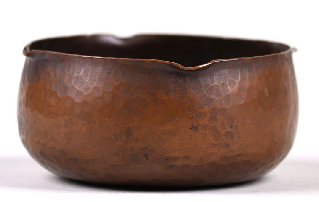 Roycroft Hammered Copper Bowl