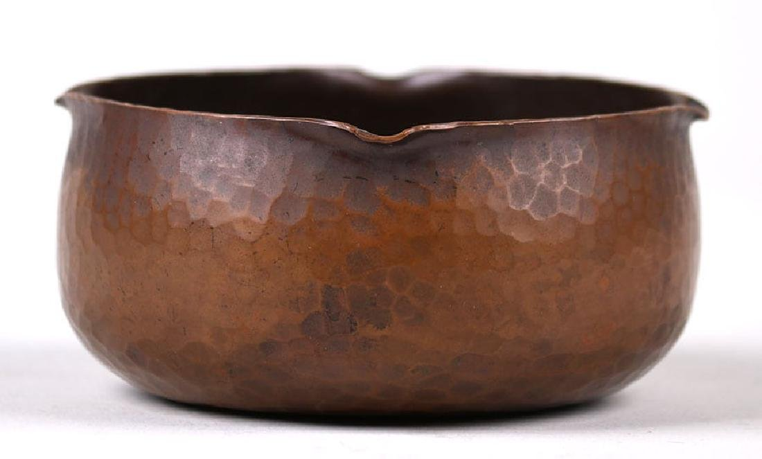 Roycroft Hammered Copper Bowl - 2