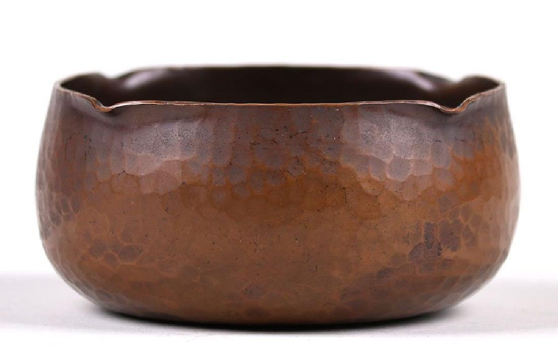 Roycroft Hammered Copper Bowl - 3