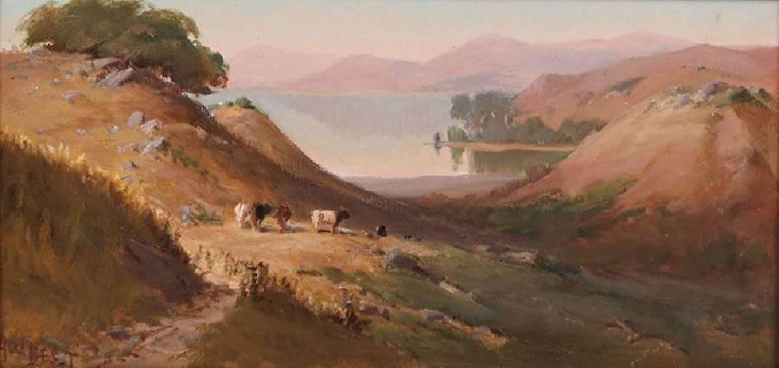 Arthur Best Painting of Mt Tamalpais