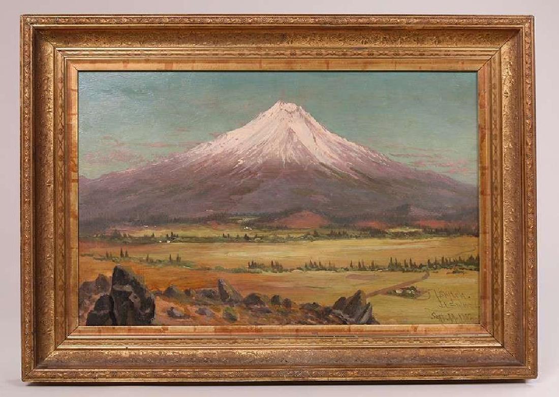 James Everett Stuart Mt Shasta Painting 1882 - 2