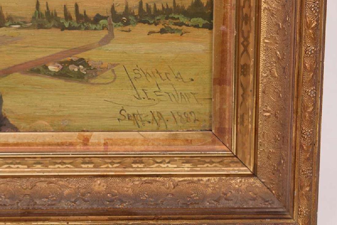 James Everett Stuart Mt Shasta Painting 1882 - 3