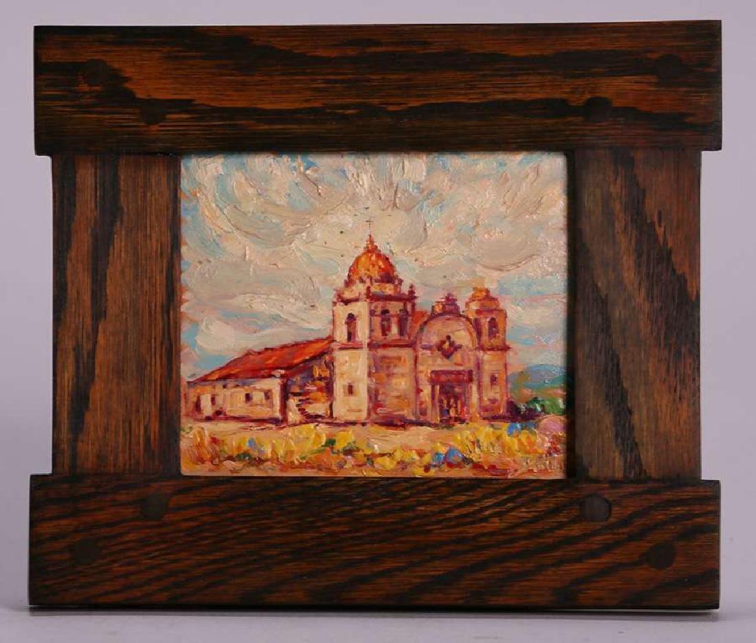 John Henry Ramm Painting - Carmel Mission (CA) - 2