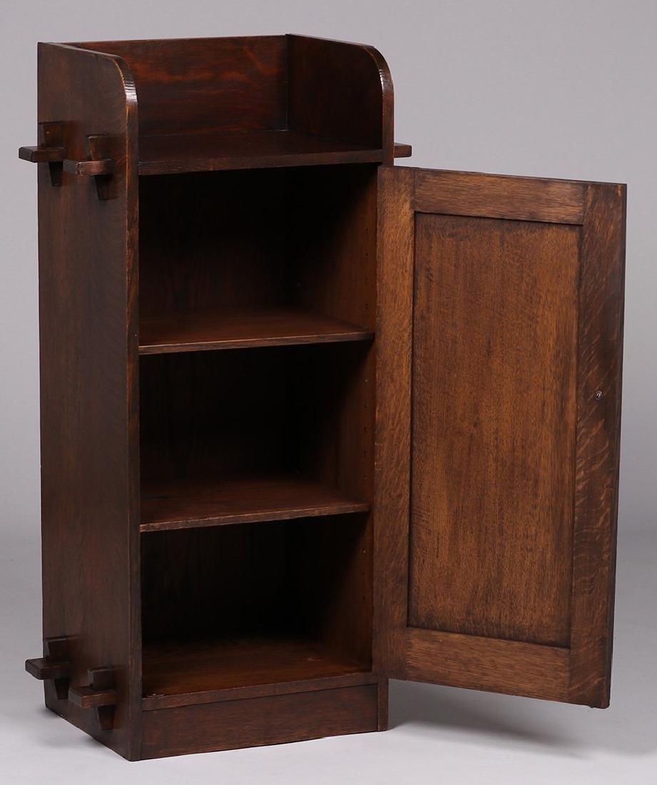 Roycroft (attributed) One-door Music Cabinet 1905 - 2