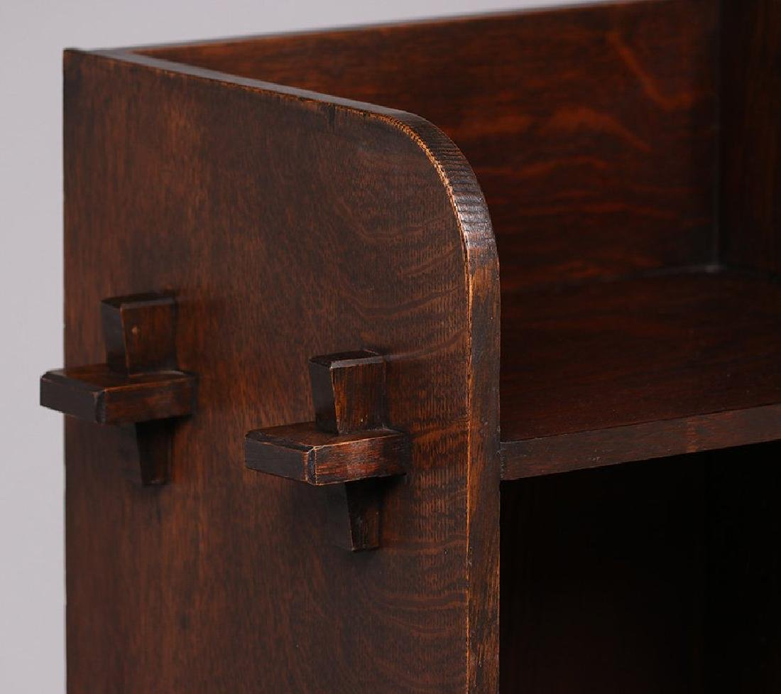 Roycroft (attributed) One-door Music Cabinet 1905 - 3