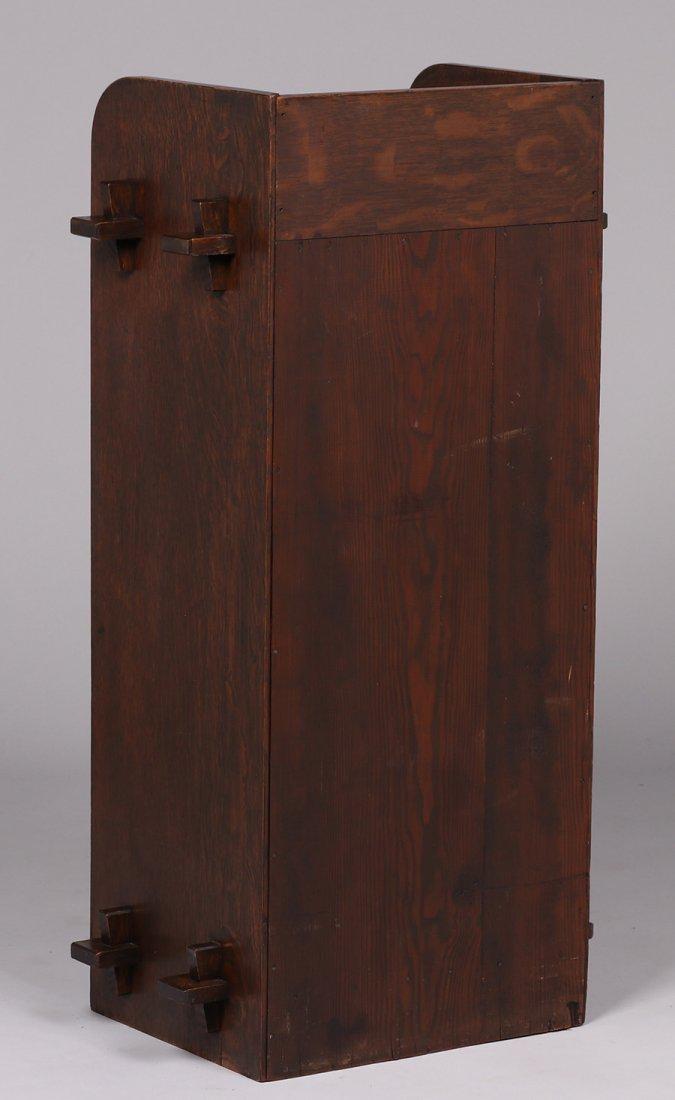 Roycroft (attributed) One-door Music Cabinet 1905 - 4