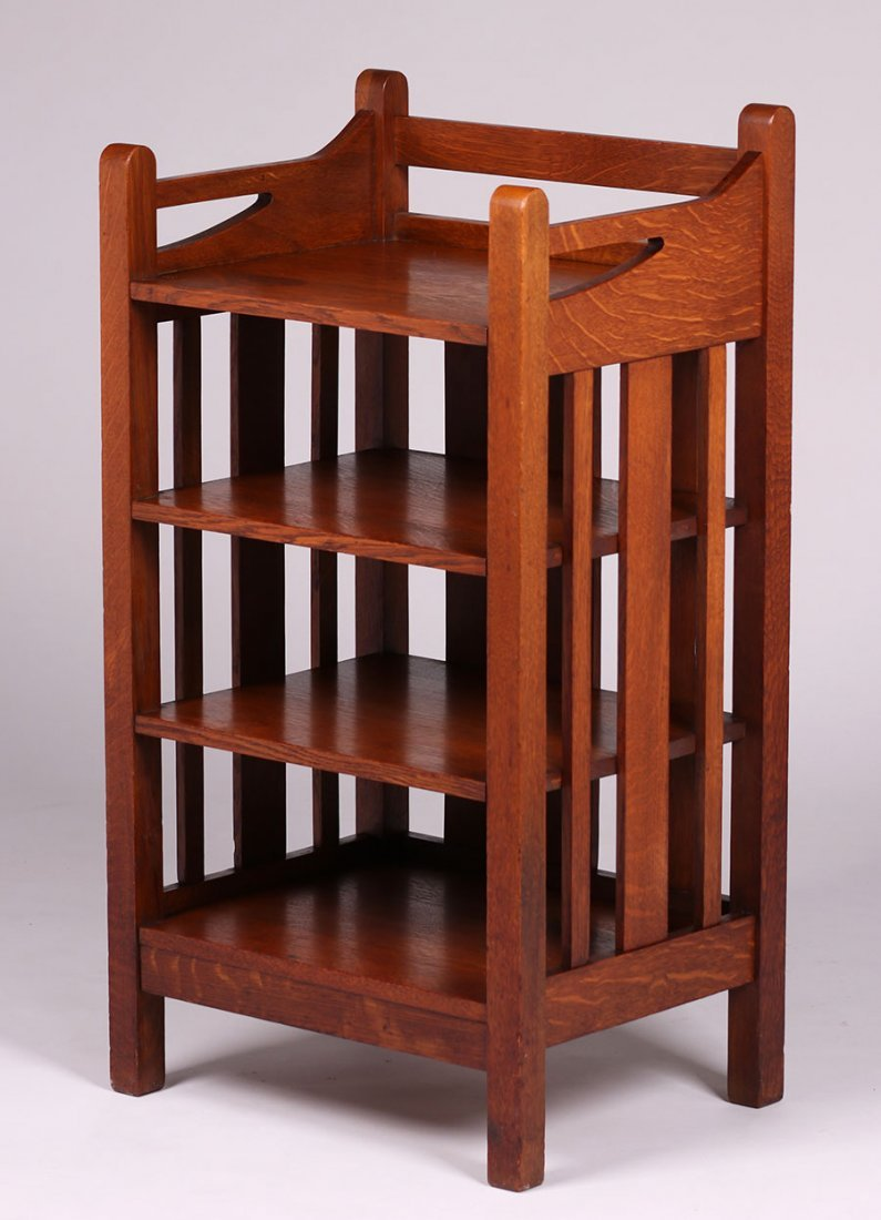 Stickley Brothers #4804 Magazine Stand - 2