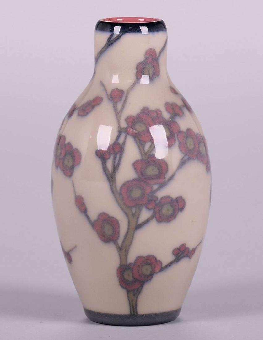 Rookwood Jeweled Porcelain Vase - 2