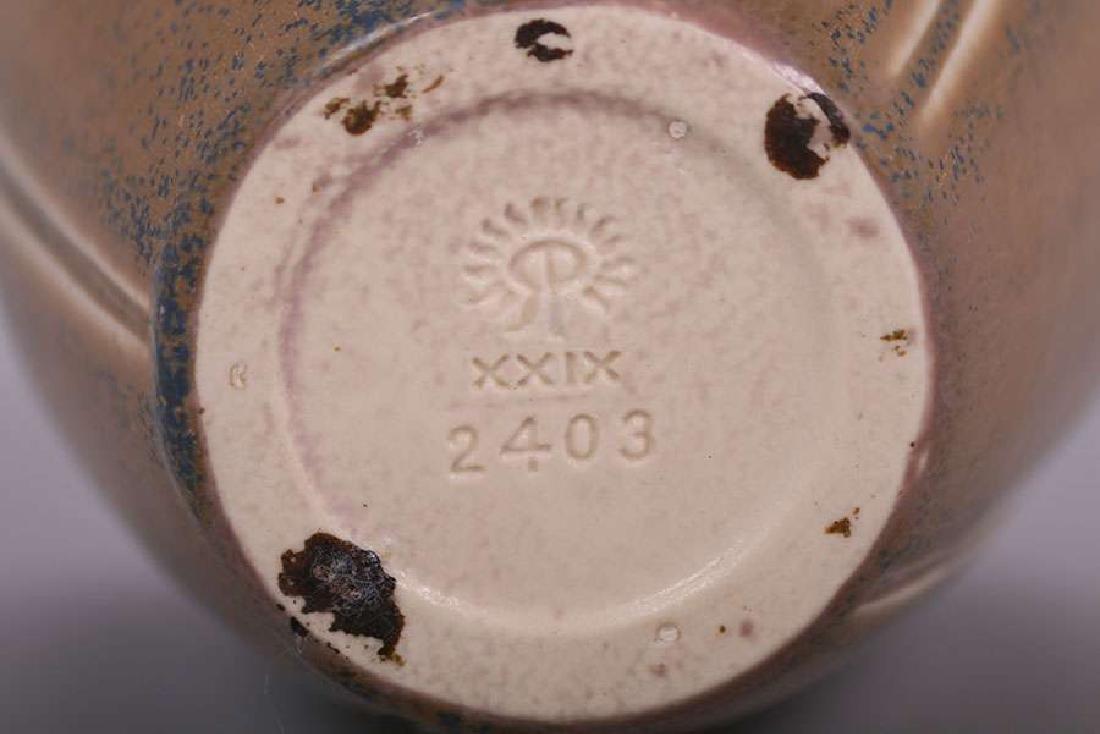 Rookwood Matte Brown Vase #2403 dated 1929 - 2