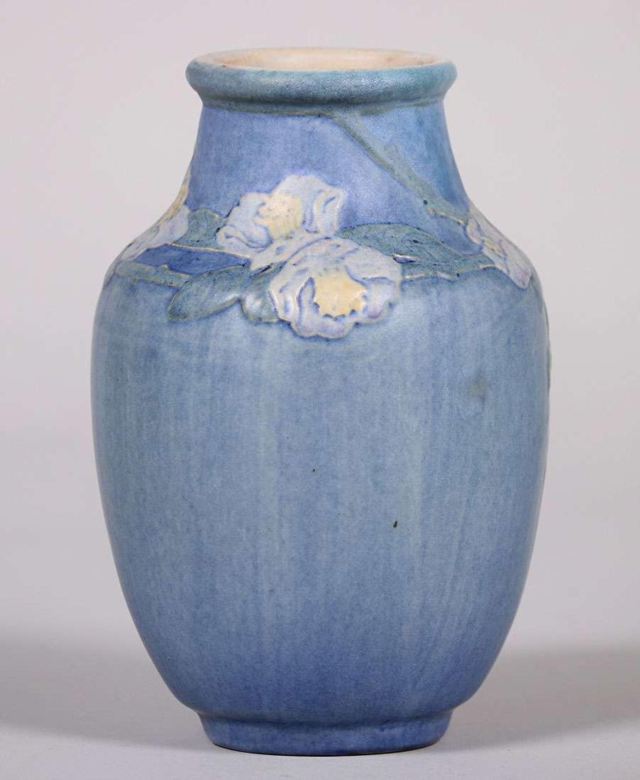 Newcomb College Floral Vase by Anne Frances Simpson - 3