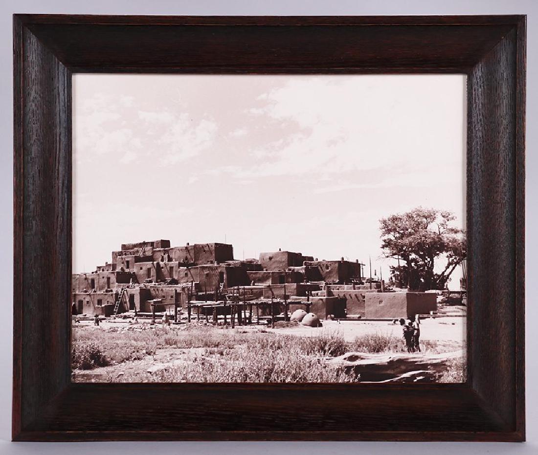 Vintage Photo of Taos Pueblo c1965 - 2