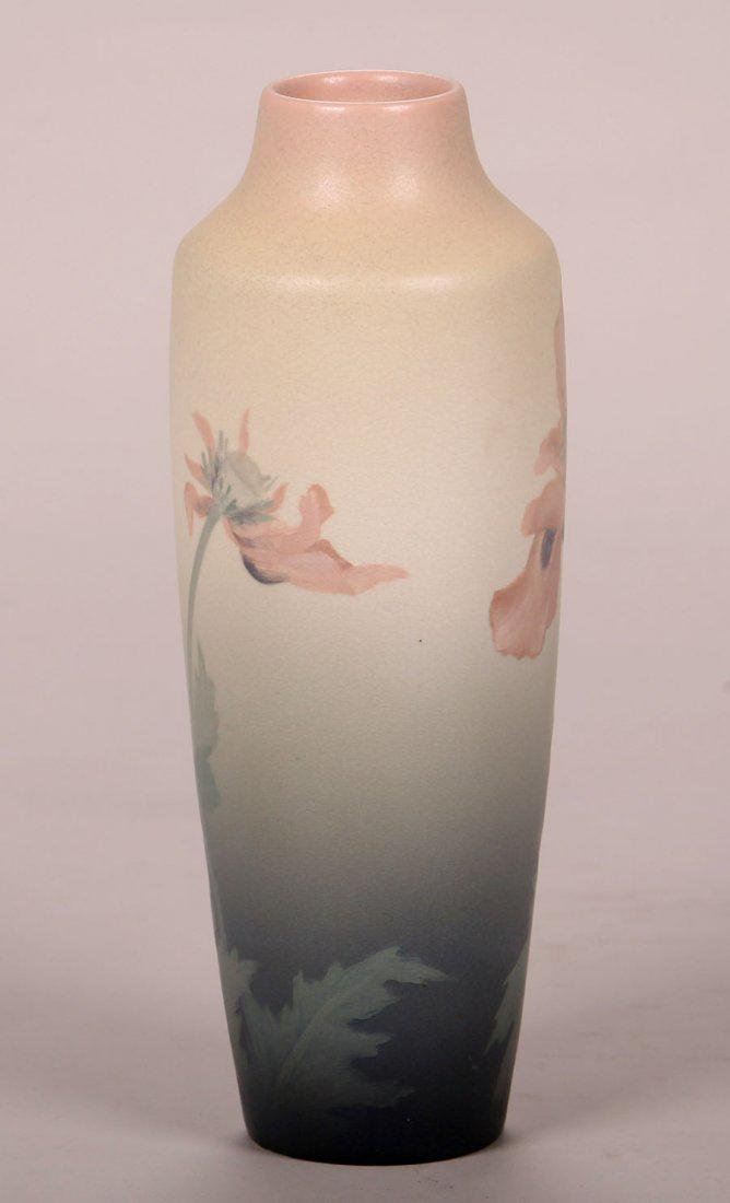 Rookwood Floral Vellum Vase by Lenore Asbury, 1905 - 3