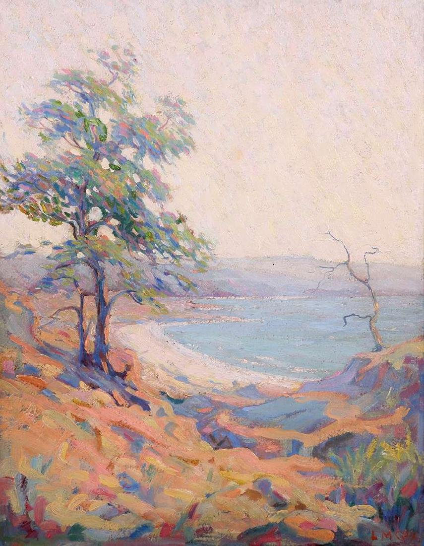 Lyda Maud Cox (1869-?) Impressionist Oil Painting