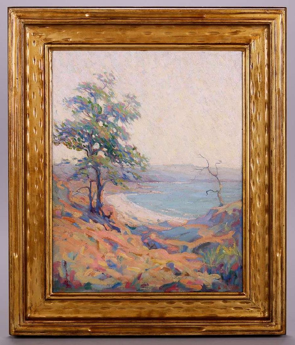 Lyda Maud Cox (1869-?) Impressionist Oil Painting - 2