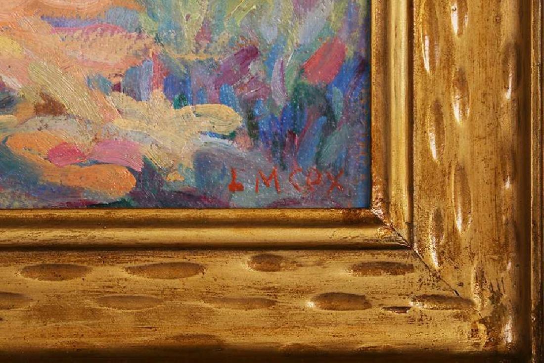 Lyda Maud Cox (1869-?) Impressionist Oil Painting - 3