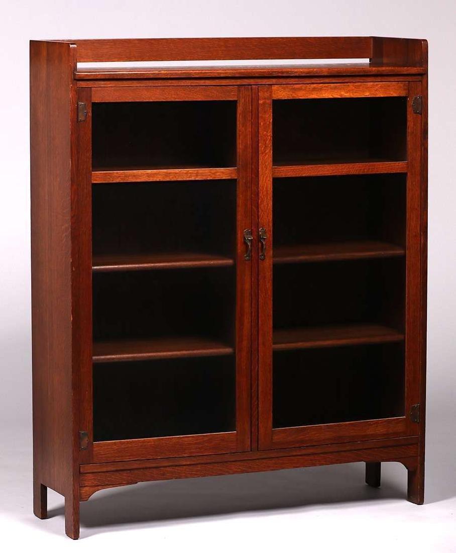 Limbert Two-door Bookcase