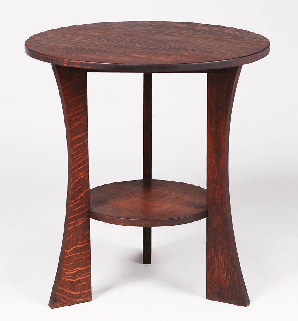 Grand Rapids Three-leg Lamp Table - 2