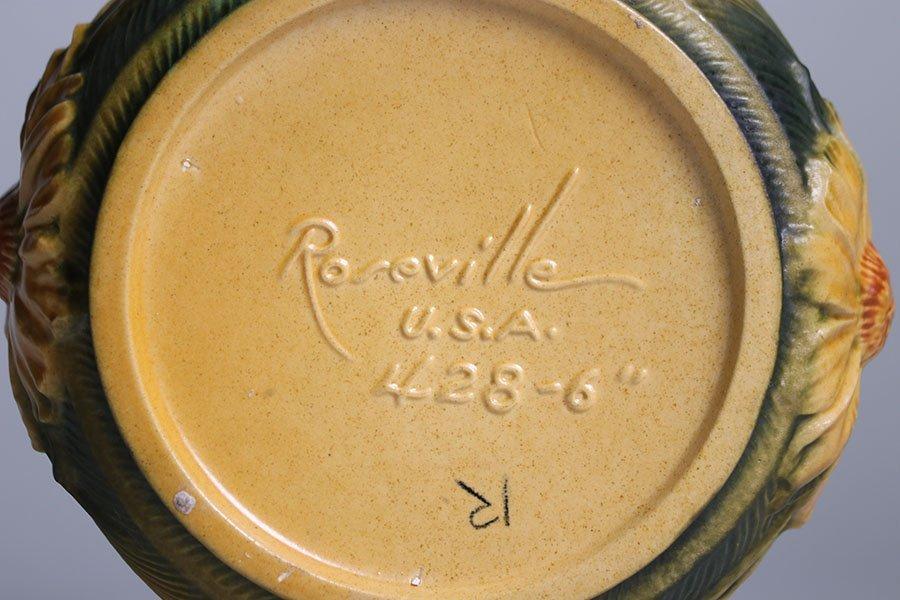 Lot of 4 Roseville Vases - 5