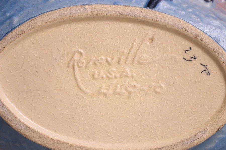 Lot of 4 Roseville Vases - 7