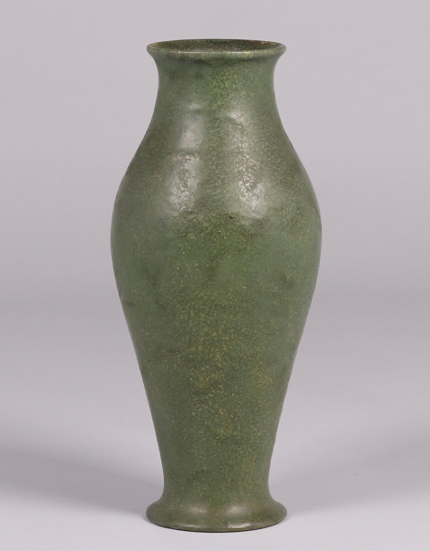 Volkmar Pottery Baluster-Shaped Vase