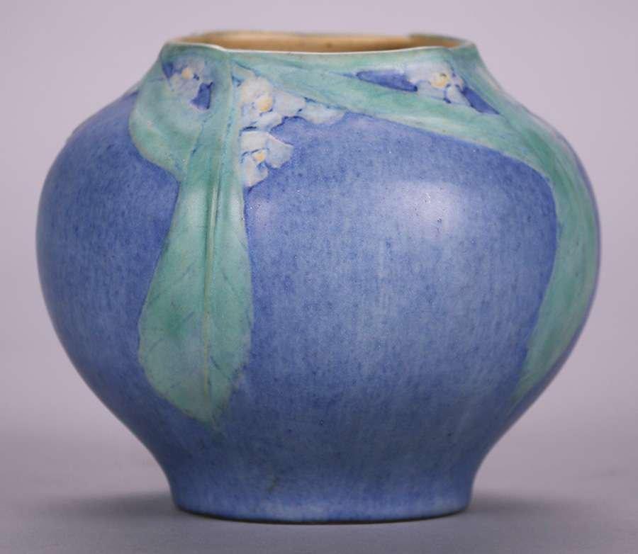 Newcomb College Vase by Sadie Irvine c1923 - 2