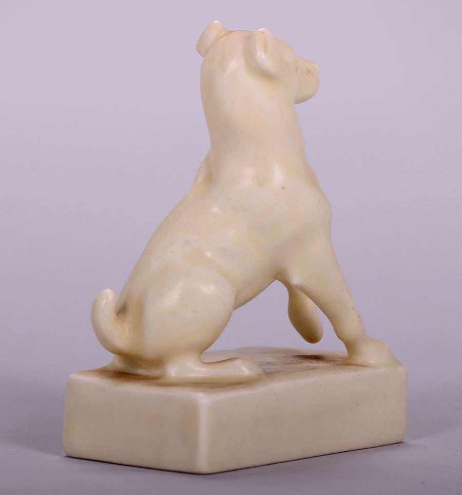 Rookwood Dog Paperweight 1930 - 2