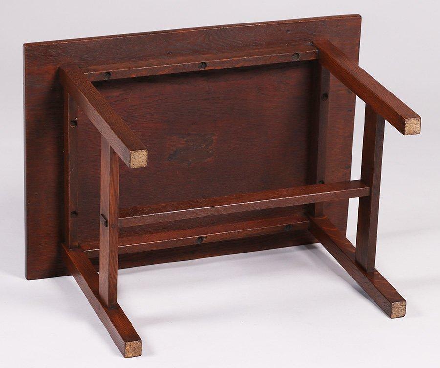 Gustav Stickley Rectangular Child's Table - 3