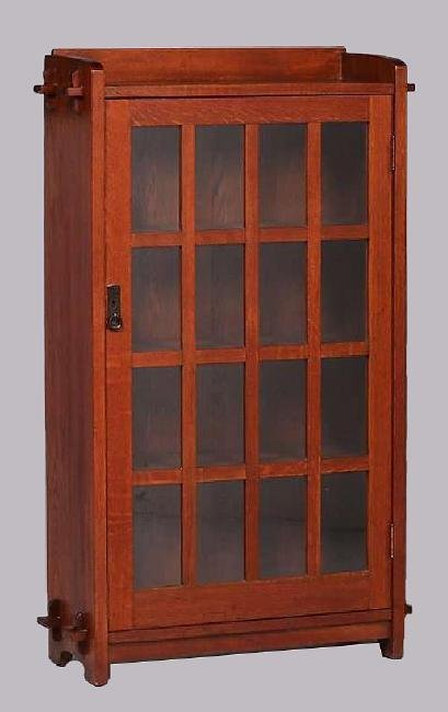 L&JG Stickley One-Door Bookcase