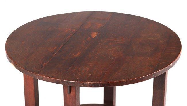L&JG Stickley Onondaga Shops Lamp Table c1902-1904 - 3