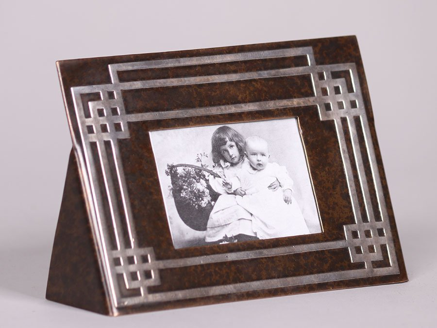 Heintz Sterling on Bronze Frame