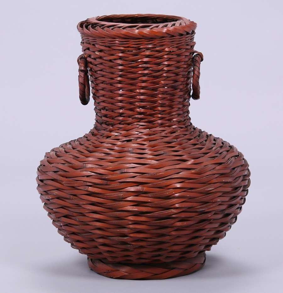 Large Antique Japanese Basket c1910 - 2