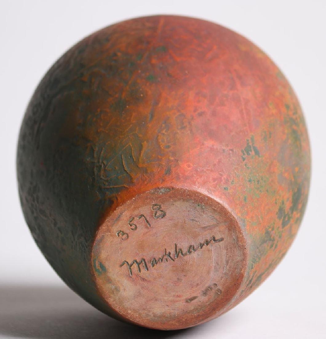 Markham Pottery Vase #3578 - 4