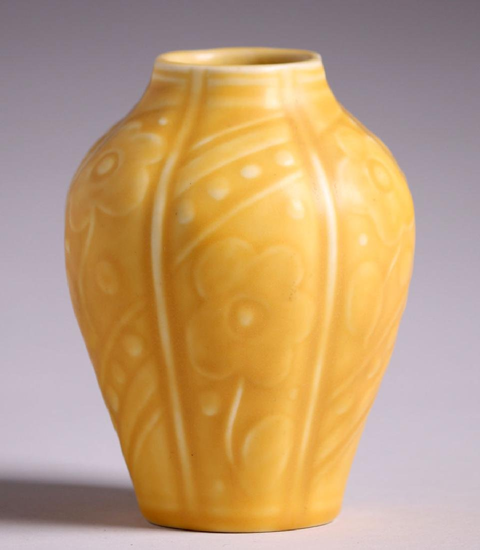 Rookwood Matte Yellow Vase 1929