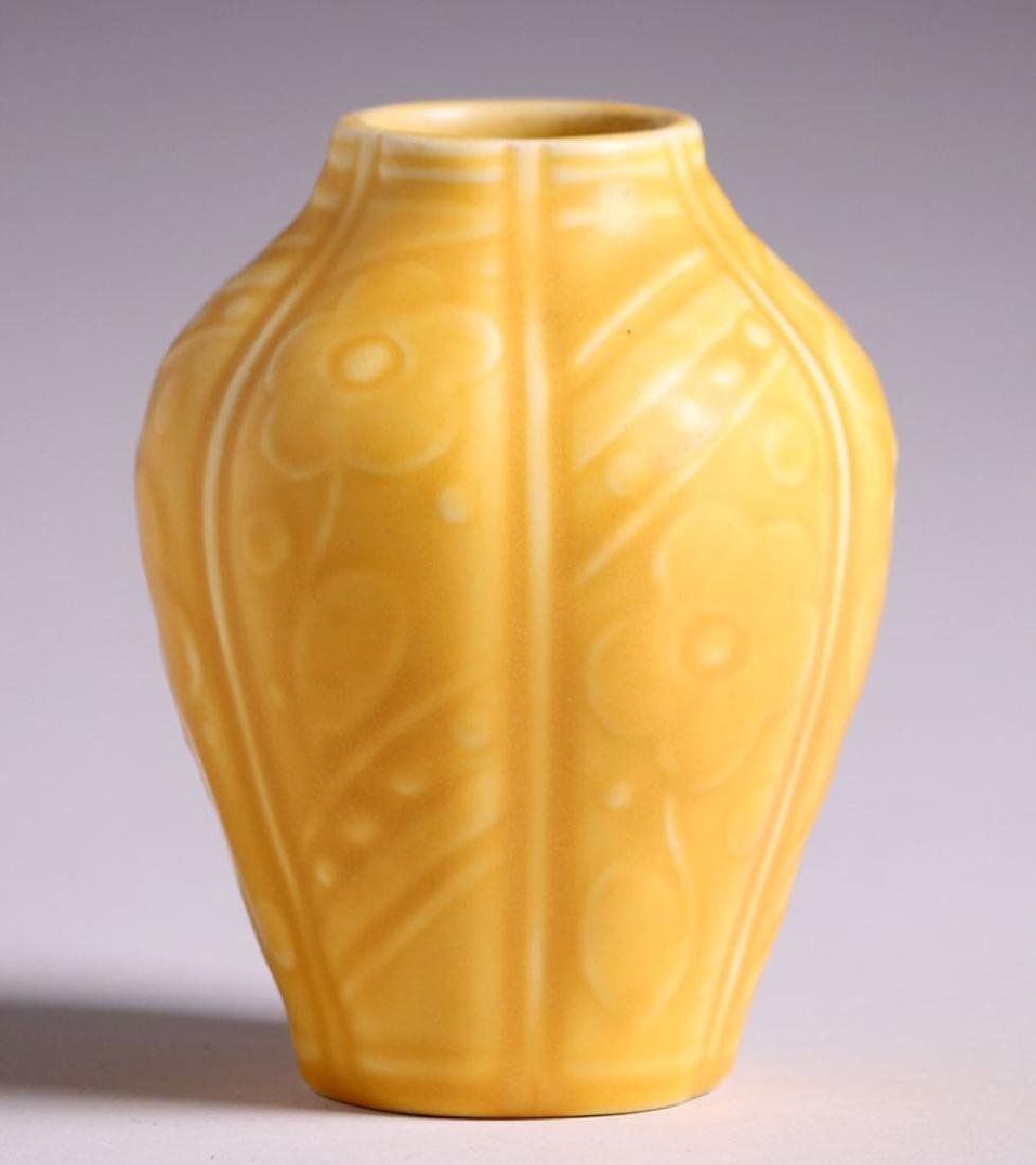 Rookwood Matte Yellow Vase 1929 - 2