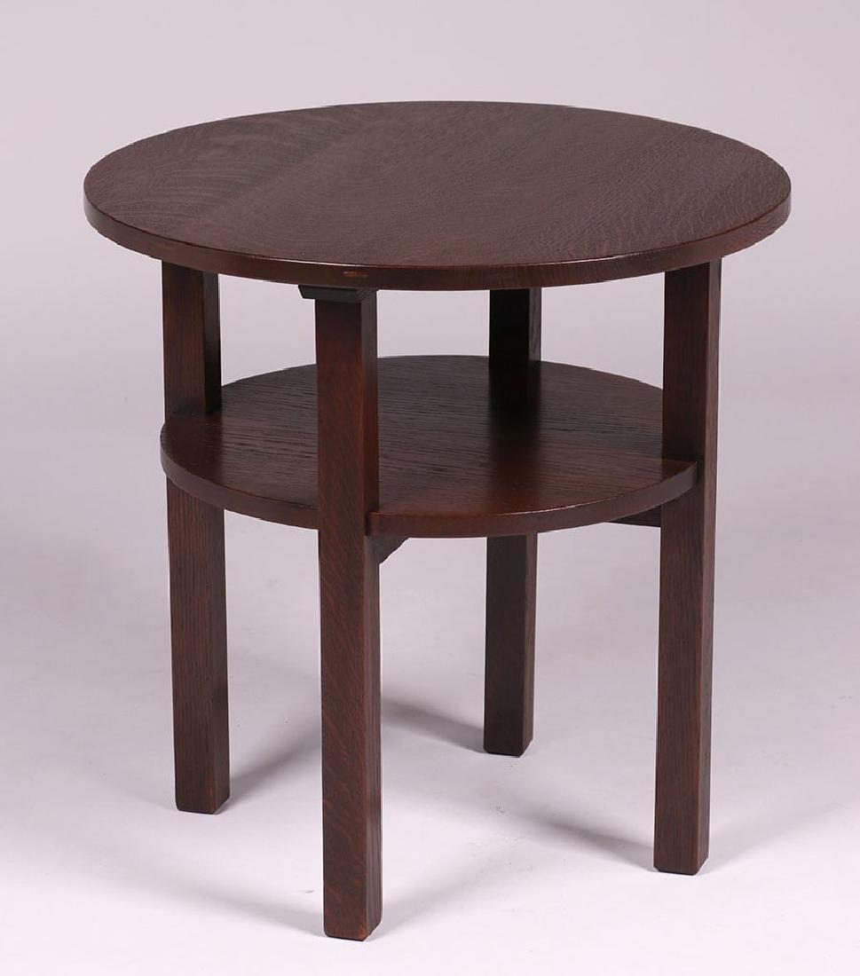 L&JG Stickley Lamp Table c1910
