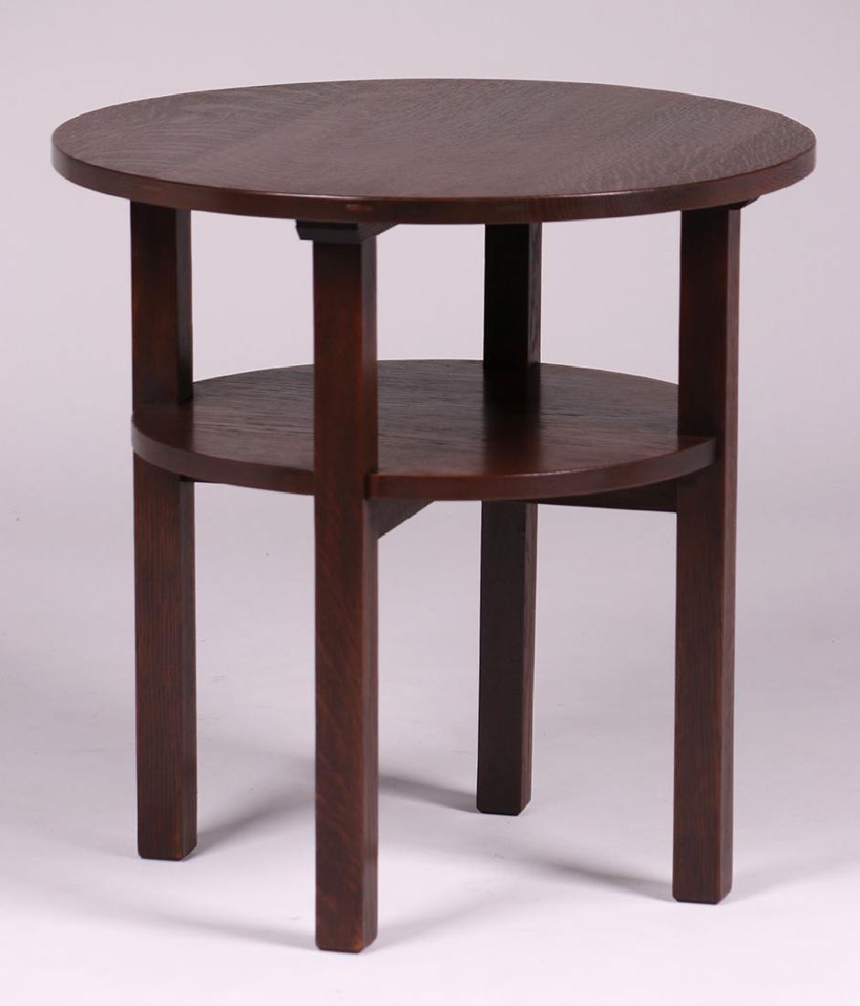 L&JG Stickley Lamp Table c1910 - 2