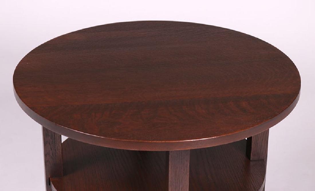 L&JG Stickley Lamp Table c1910 - 3