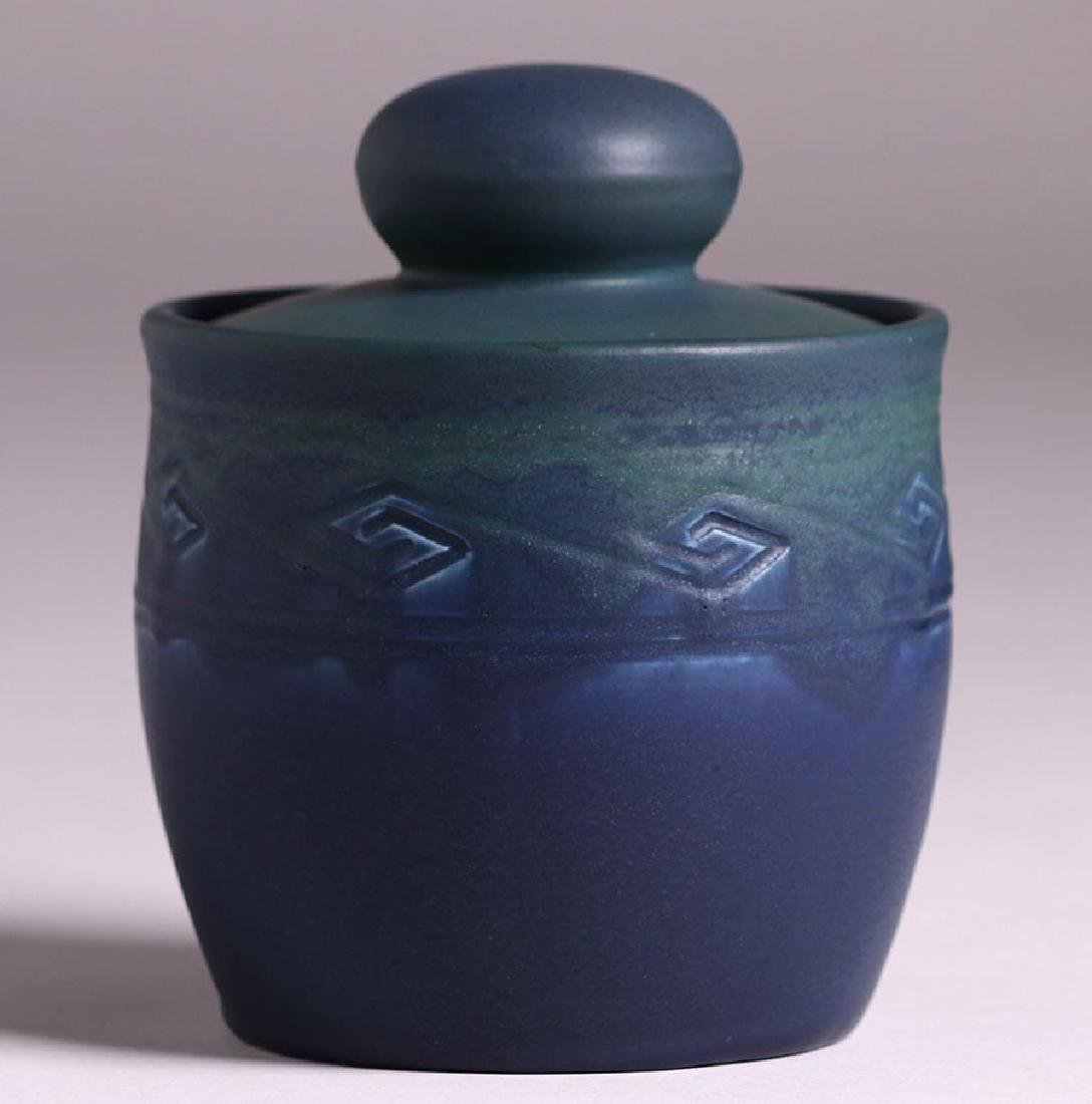 Rookwood Matte Blue Humidor 1906
